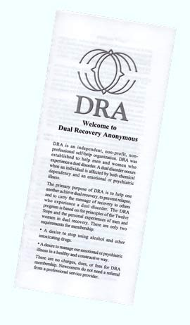Tri-fold Welcome to DRA brochure